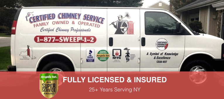 Certified Chimney Service Truck